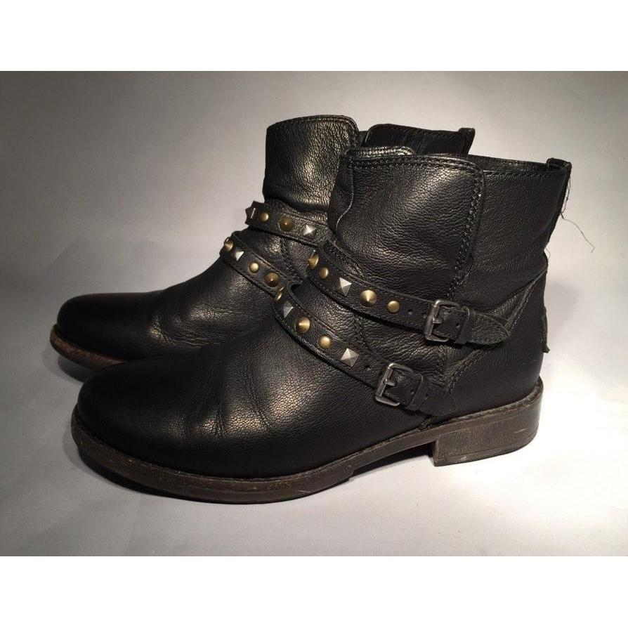 UGG Camile Black Women's Boot Size 6-Shoes-UGG-6-ShoeShock