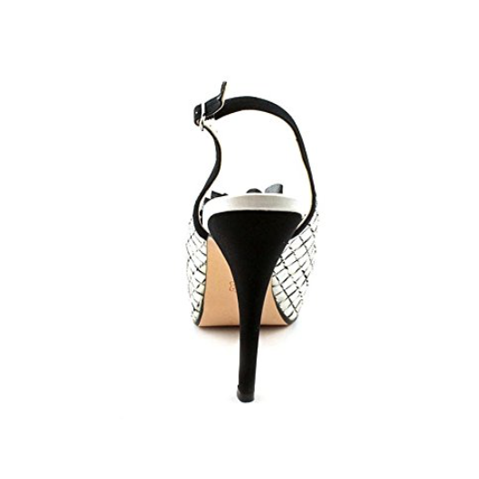 Caparros Farrah Slingback Pump White Mesh Women's-Shoes-Caparros-6-ShoeShock