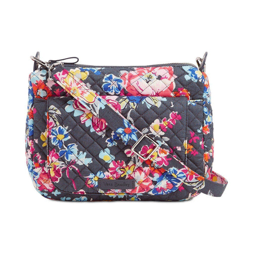 Carson Mini Shoulder Bag Pretty Posies/Silver