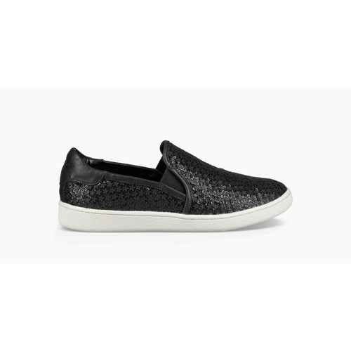 Cas Glitter Slip-On Glitter Sneakers