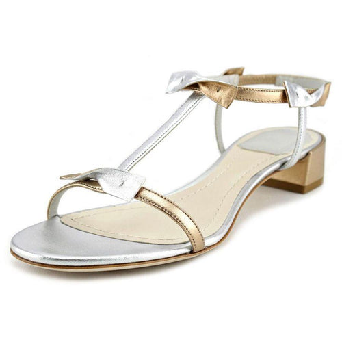 Christian Dior SP15 Dior Doll Silver Slingback Sandals-Shoes-Dior-7-ShoeShock