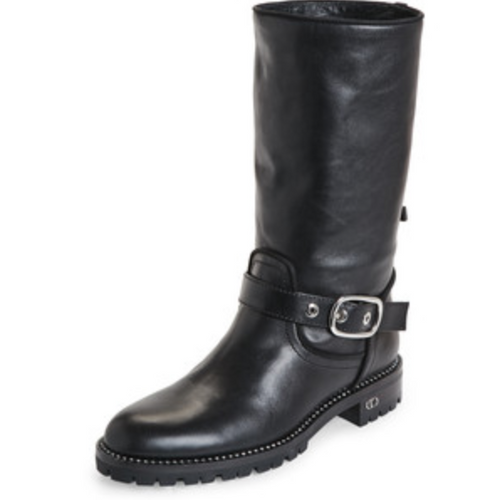 Christian Dior Women's Rebelle Mid-Calf Boots-Shoes-Dior-6-ShoeShock