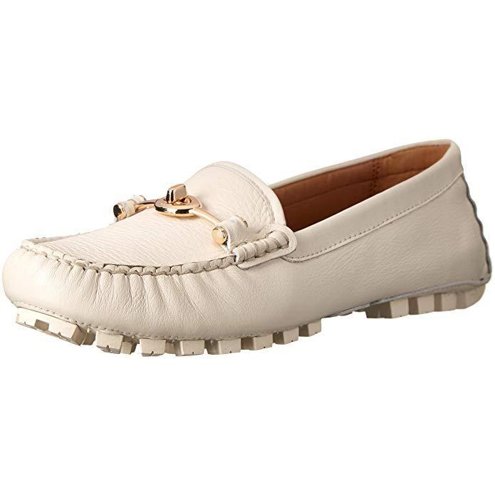Coach Arlene Leather Loafer Leather Closed Toe Loafers-Shoes-Coach-7-ShoeShock