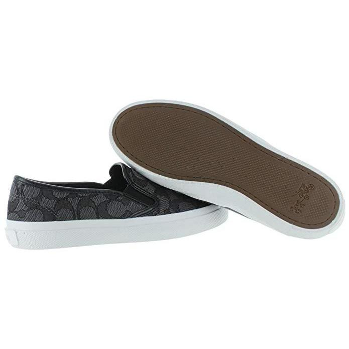 dea5e8dded0 Coach Chrissy Women s Signature Slip On Sneakers Shoes-Shoes-Coach -6-ShoeShock