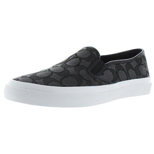 Coach Chrissy Women's Signature Slip On Sneakers Shoes-Shoes-Coach-6-ShoeShock