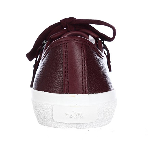 Coach Empire Zipper Lace Up Leather Sneaker-Shoes-Coach-6-ShoeShock