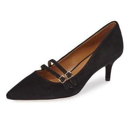 Coach London Lux Pointy Toe Suede Pump-Shoes-Coach-6-ShoeShock