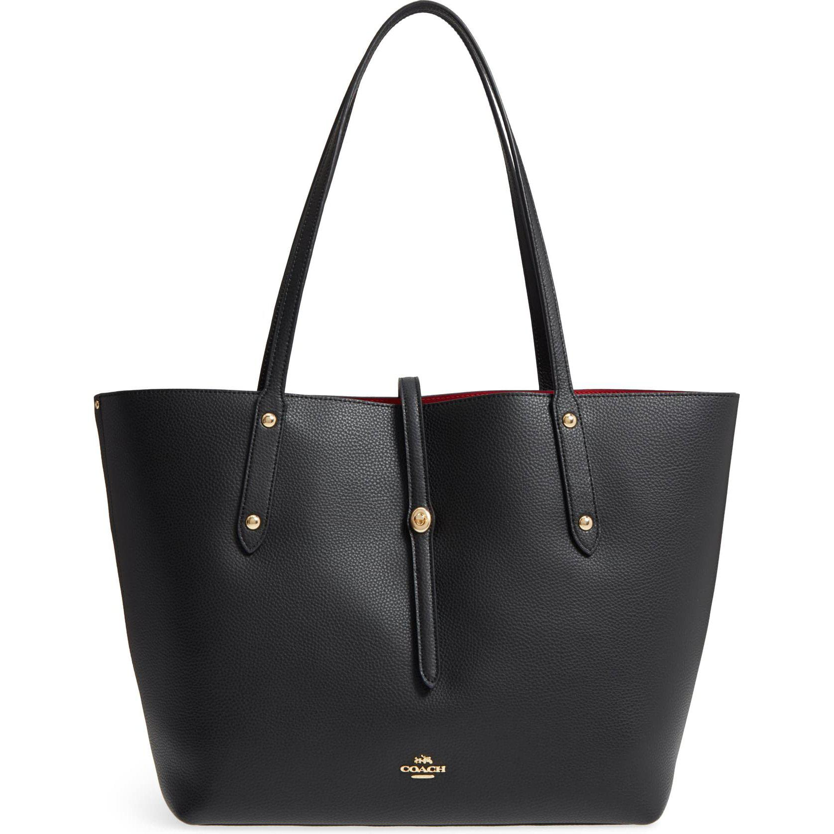 Coach Market Pebbled Leather Large Tote