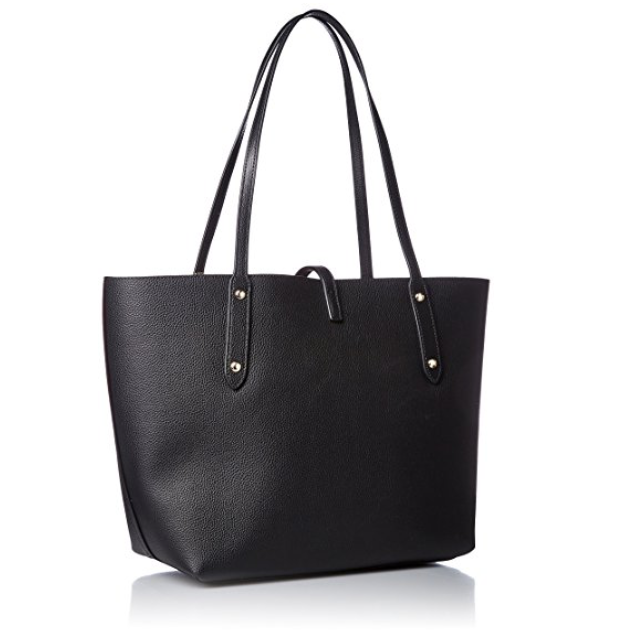 COACH Womens Polished Pebbled Leather Market Tote-Handbags & Accessories-Coach-ShoeShock