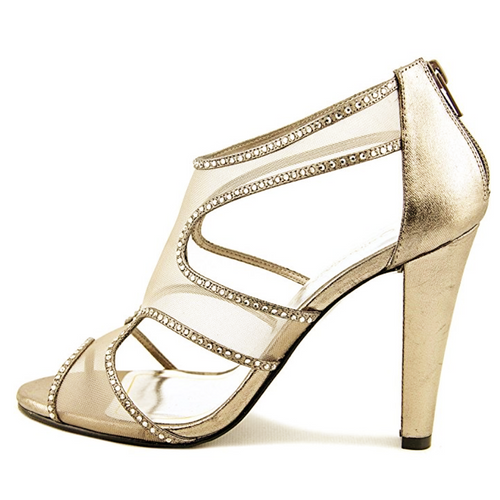 Caparros Desire Rhinestone Embellished High Heel Sandals-Shoes-Caparros-7-ShoeShock