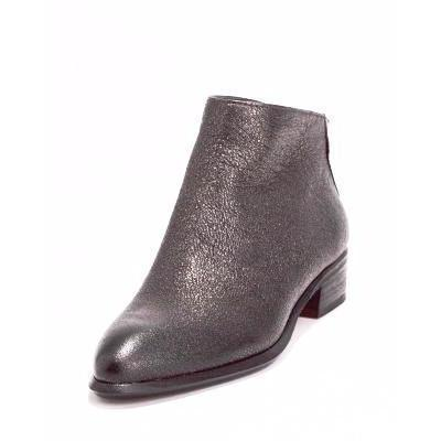 Dolce Vita Mylene Gunmetal Metallic Leather Boot-Shoe-Dolce Vita-7.5-ShoeShock