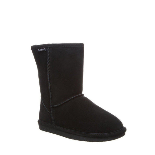 Emma Short Charcoal Suede Boots