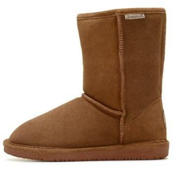 Emma Short Hickory Suede Boot