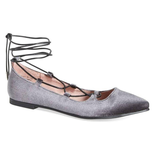 Chinese Laundry 1284 Womens Endless Summer Gray Ballet Flats-Shoes-Chinese Laundry-6-ShoeShock