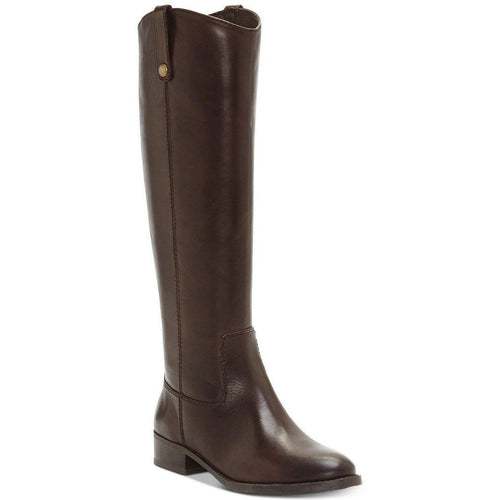 INC Womens Fawne Wide Calf Leather Riding Boots-Shoes-INC-5.5-ShoeShock