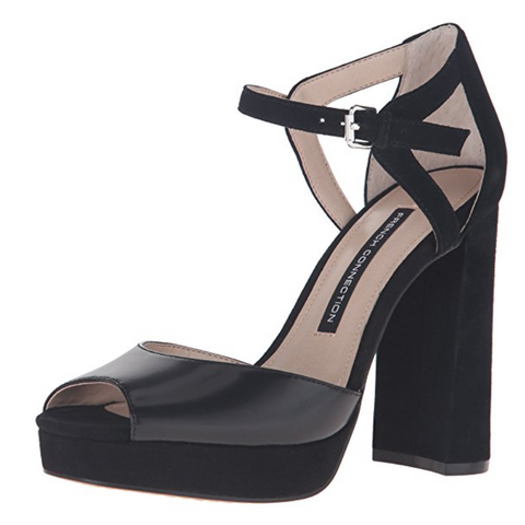 08895c516373 French Connection Dita Ankle Strap High Heel Platform Sandals