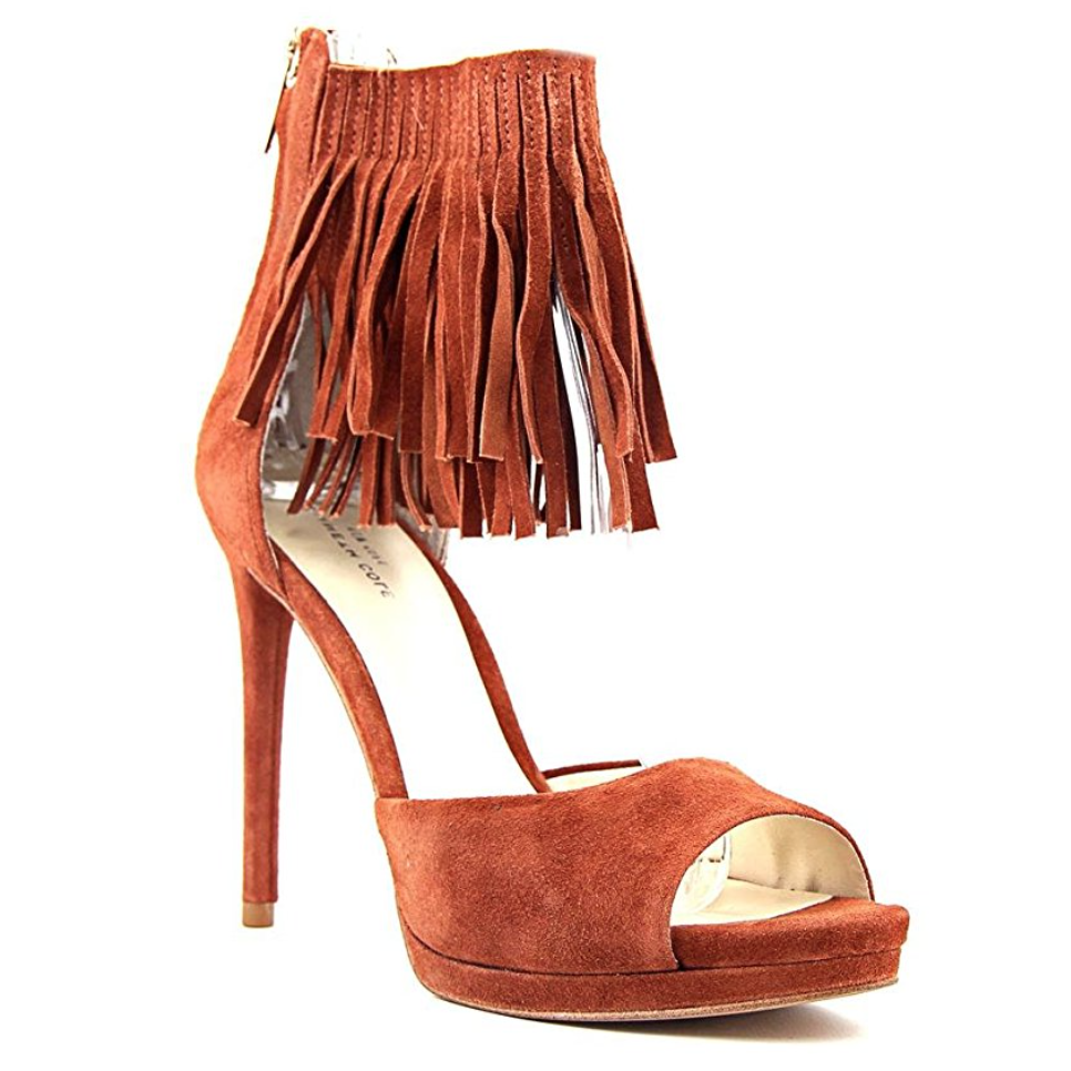 Kenneth Cole Geneva Fringe Ankle Strap Open Toe Pumps-Shoes-Kenneth Cole-6-ShoeShock