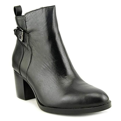 Lauren Ralph Lauren Genna Buckled Leather Ankle Boots-Shoes-Ralph Lauren-6-ShoeShock