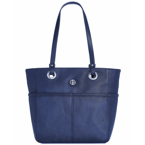 Giani Bernini Pebble Leather Tote-Handbags & Accessories-Giani Bernini-ShoeShock