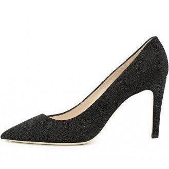 Giorgio Armani Women's Decollete Asymmetrical Embellished Pumps-Shoes-Georgio Armani-7-ShoeShock