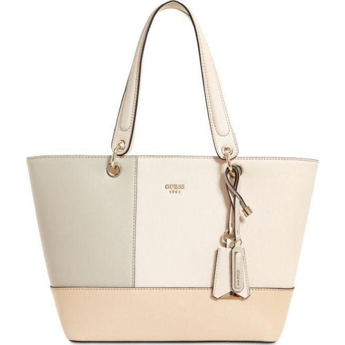 Guess Kamryn Woman's Eco Leather Tote Bag-Handbags & Accessories-Guess-ShoeShock