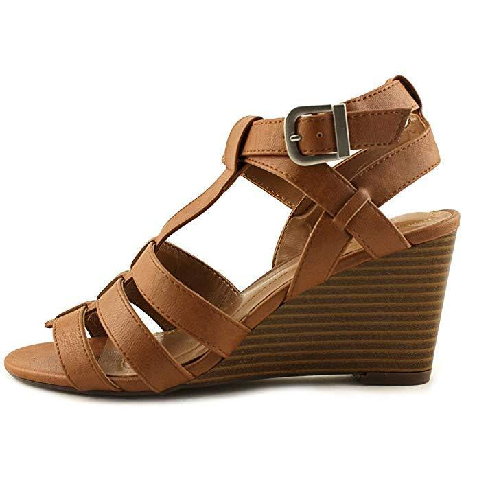 Style & Co. Womens Haydar Open Toe Casual Slingback Sandals-Shoes-Style & Co.-7-ShoeShock