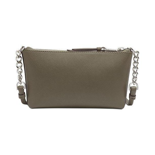 Hayden Saffiano Leather Chain Crossbody