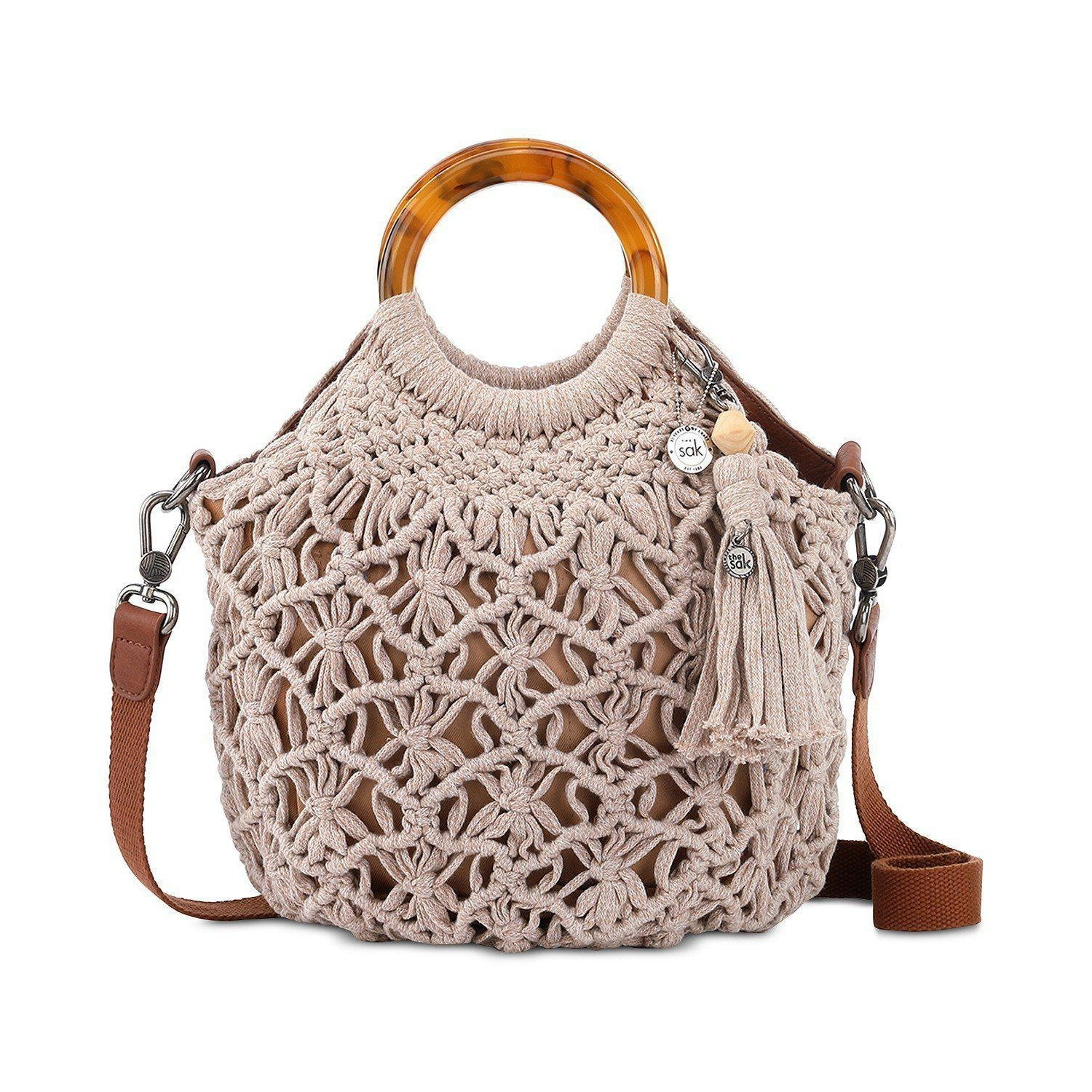 Helena Crochet Bracelet Handle Crossbody
