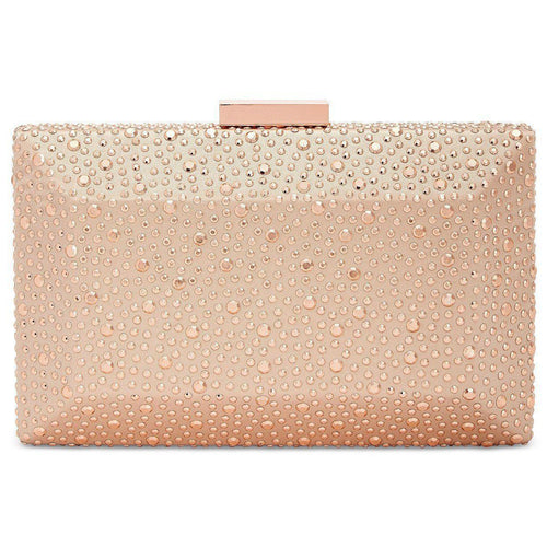 Inc International Concepts Jessaca Stone Box Clutch-Handbags & Accessories-INC-ShoeShock