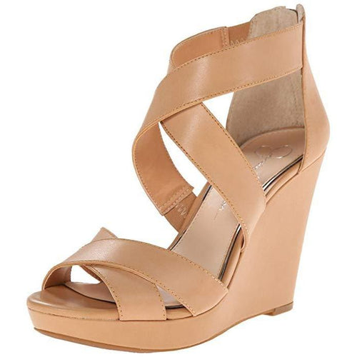 Jessica Simpson Jadyn Platform Wedge Sandal-Shoes-Jessica Simpson-6.5-ShoeShock