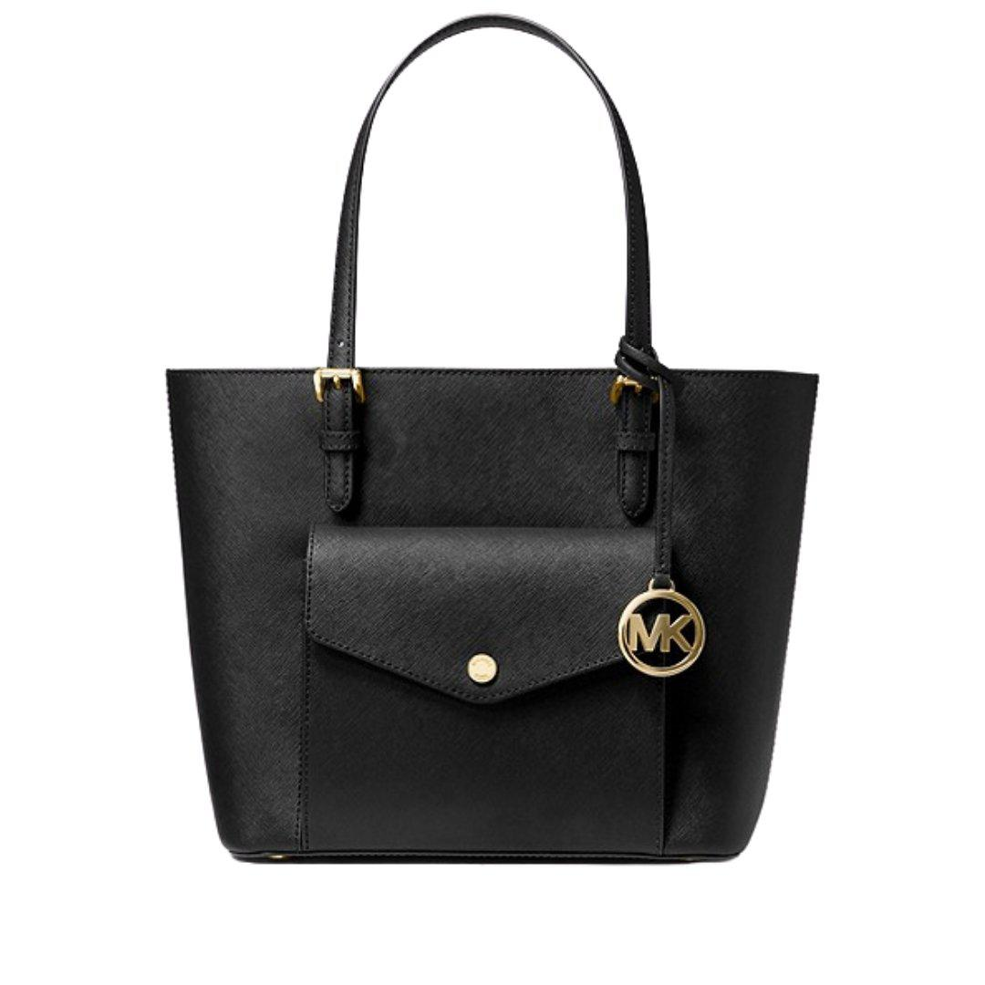 Jet Set Multi Function Medium Pocket Tote Black