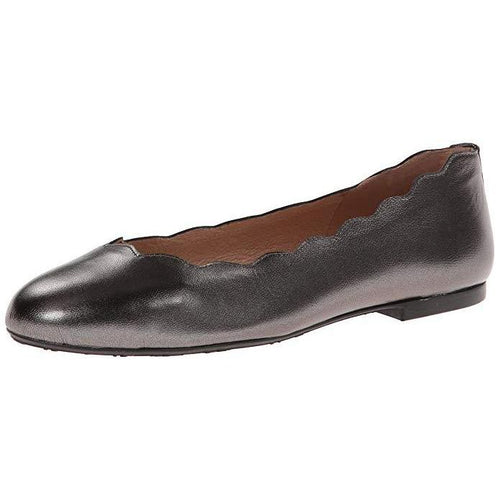 French Sole Fs/ny Jigsaw Ballet Flats Pewter Metallic-Shoes-French Sole-5-ShoeShock