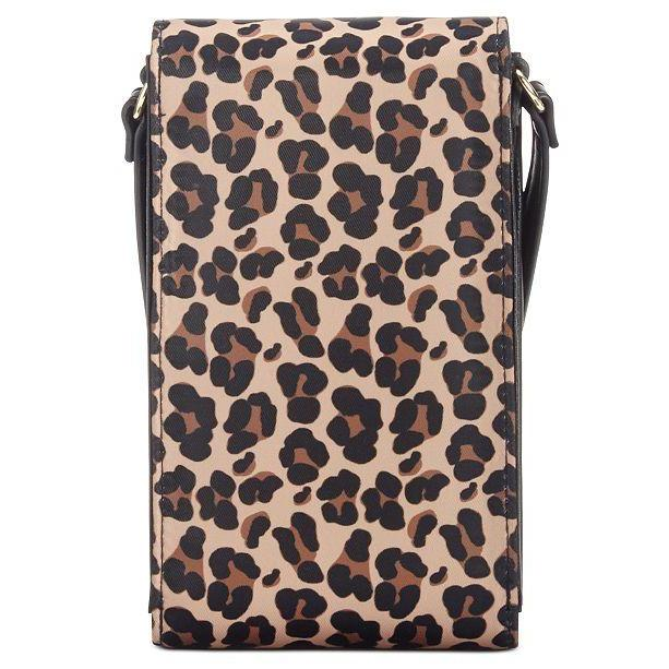 Julia Leopard Nylon iPhone Crossbody