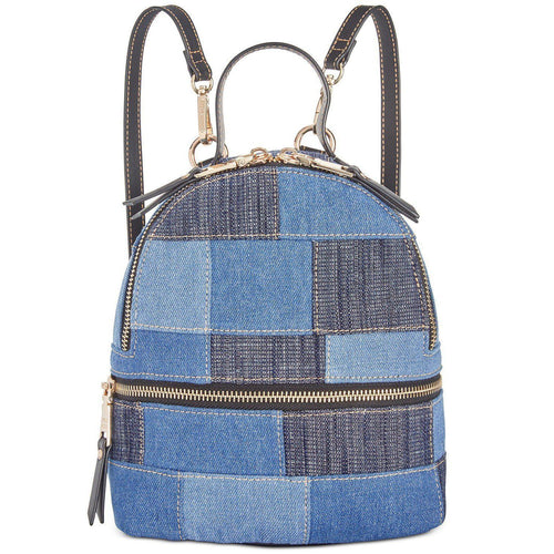 Kelce Denim Patch Mini Backpack