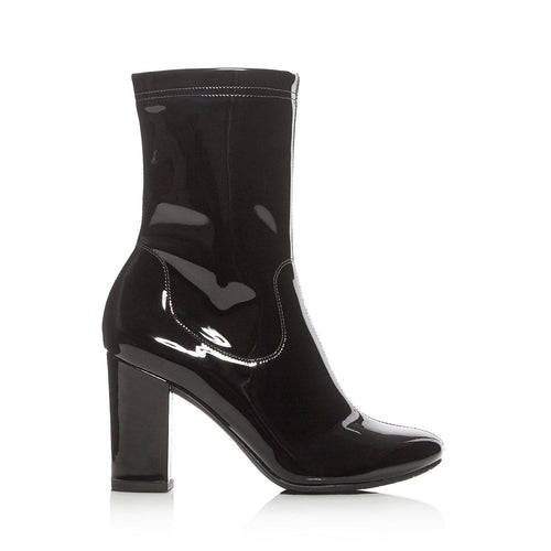 Kenneth Cole Alyssa High Heel Patent Leather Booties-Shoes-Kenneth Cole-7-ShoeShock