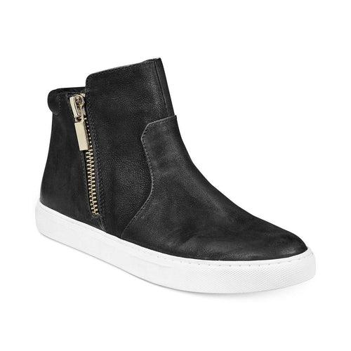 Kiera Side Zip High Top Sneakers