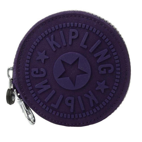 Kipling Marguerite Coin Purse Purple-Handbags & Accessories-Kipling-ShoeShock