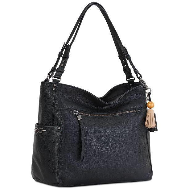 La Mesa 4-Poster Leather Tote