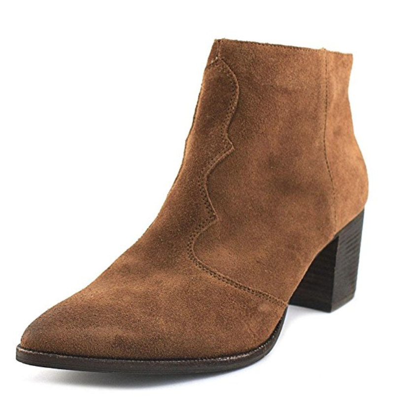 Dolce Vita Lennon Suede Ankle Booties-Shoes-Dolce Vita-7-ShoeShock
