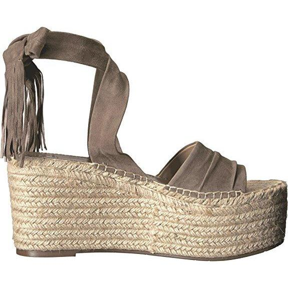 014e209acbafa Marc Fisher Ltd. Rabecca Ankle Tie Espadrille Platform Wedge Sandals-Shoes-Marc  Fisher