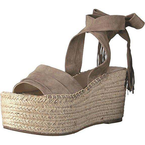 c687e1af99b7 Marc Fisher Ltd. Rabecca Ankle Tie Espadrille Platform Wedge Sandals-Shoes-Marc  Fisher