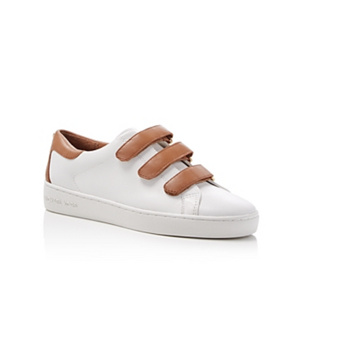 Michael Michael Kors Craig Round Toe Triple Strap Leather Sneakers-Shoes-Michael Kors-5-ShoeShock