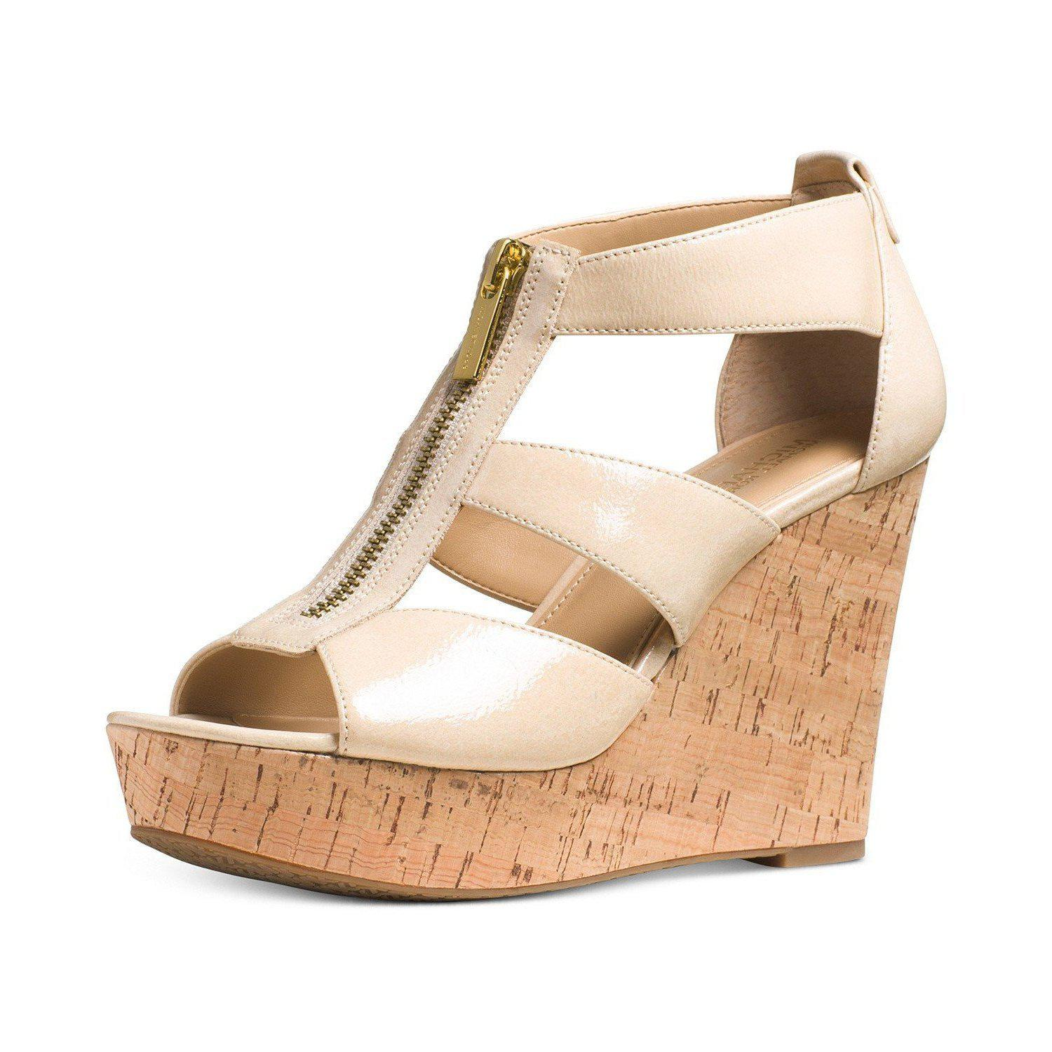 Michael Michael Kors Damita Platform Wedge Sandals-Shoes-Michael Kors-6-ShoeShock