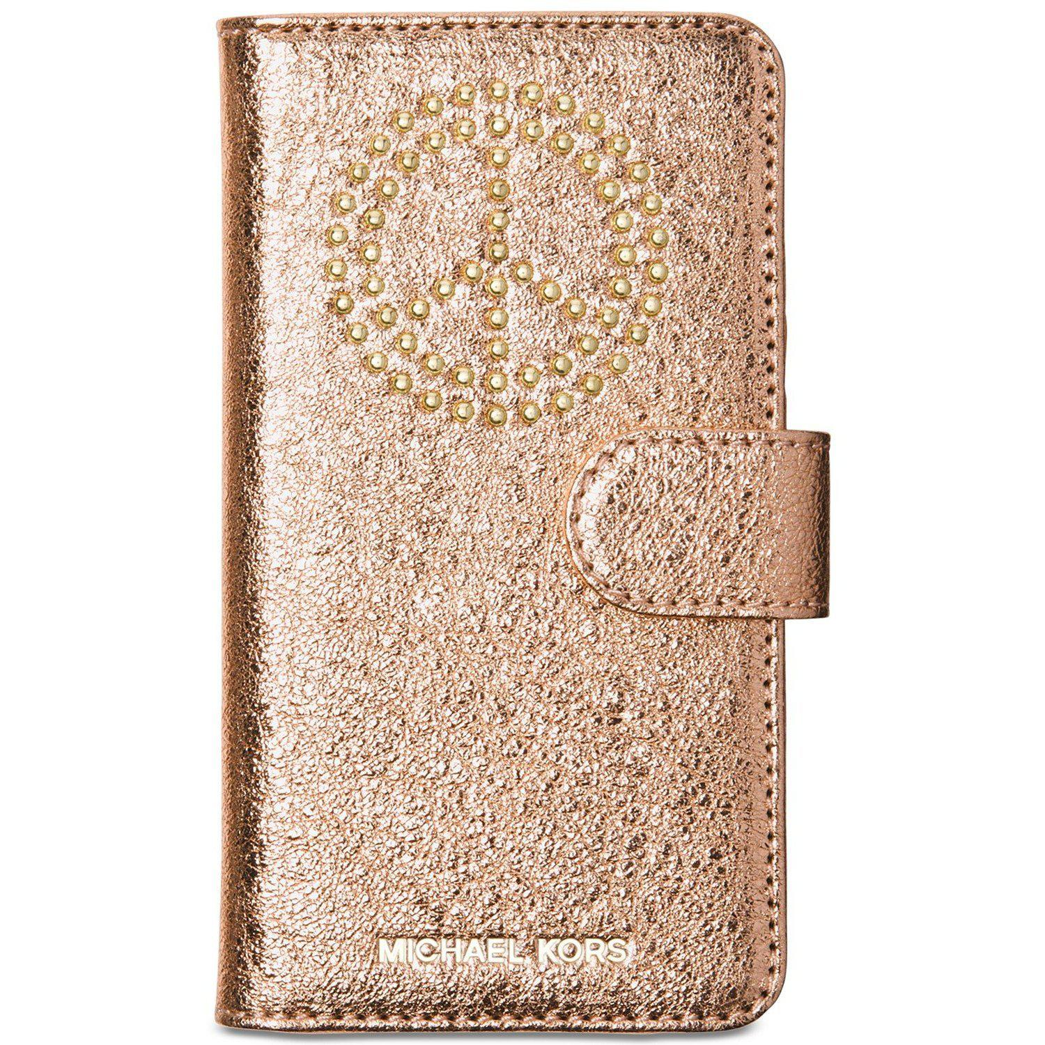 MICHAEL Michael Kors iPhone 7 Plus Folio Case-Handbags & Accessories-Michael Kors-ShoeShock