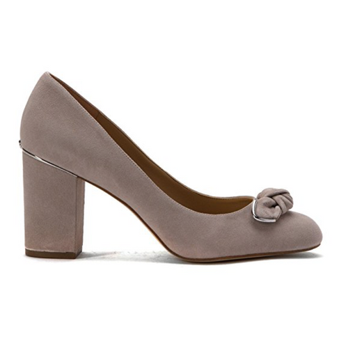 Michael Michael Kors Liza Bow Block Heel Pumps-Shoes-Michael Kors-6.5-ShoeShock