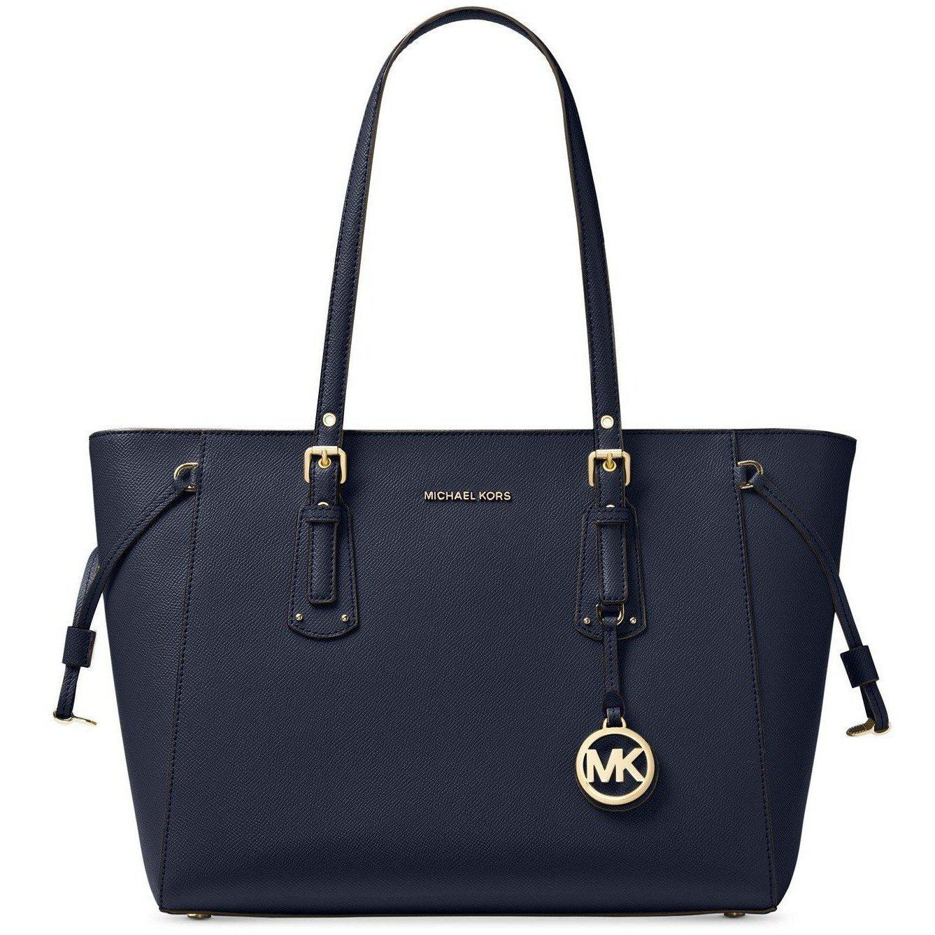 0d9f9fe50bcd44 MICHAEL Michael Kors Voyager Medium Multifunction Top-Zip Tote-Handbags &  Accessories-Michael