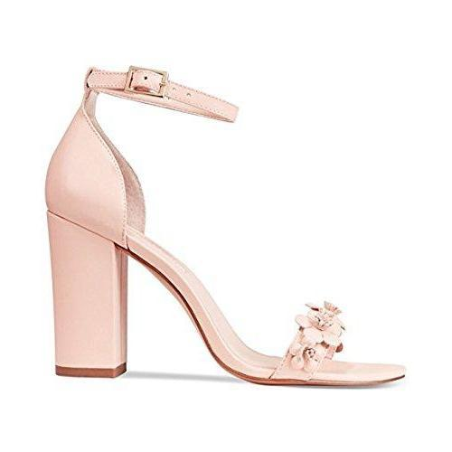 Michele Embellished Two-Piece Women's Sandals-Shoes-Avec Les Filles-6-ShoeShock