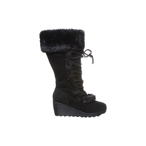 Minka Winter Wedge Boots
