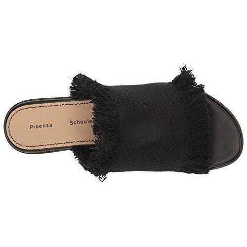 Proenza Schouler PS28010 Nero Women's Flat Shoes-Shoes-Proenza Schouler-7-ShoeShock