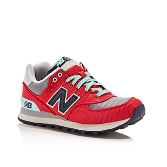 New Balance Women's WL574 Moyen Lace Up Sneakers-Shoes-New Balance-5.5-ShoeShock